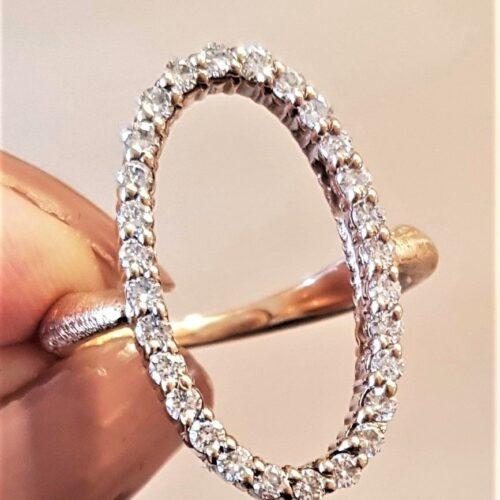 Eternity ring 0,61 carat