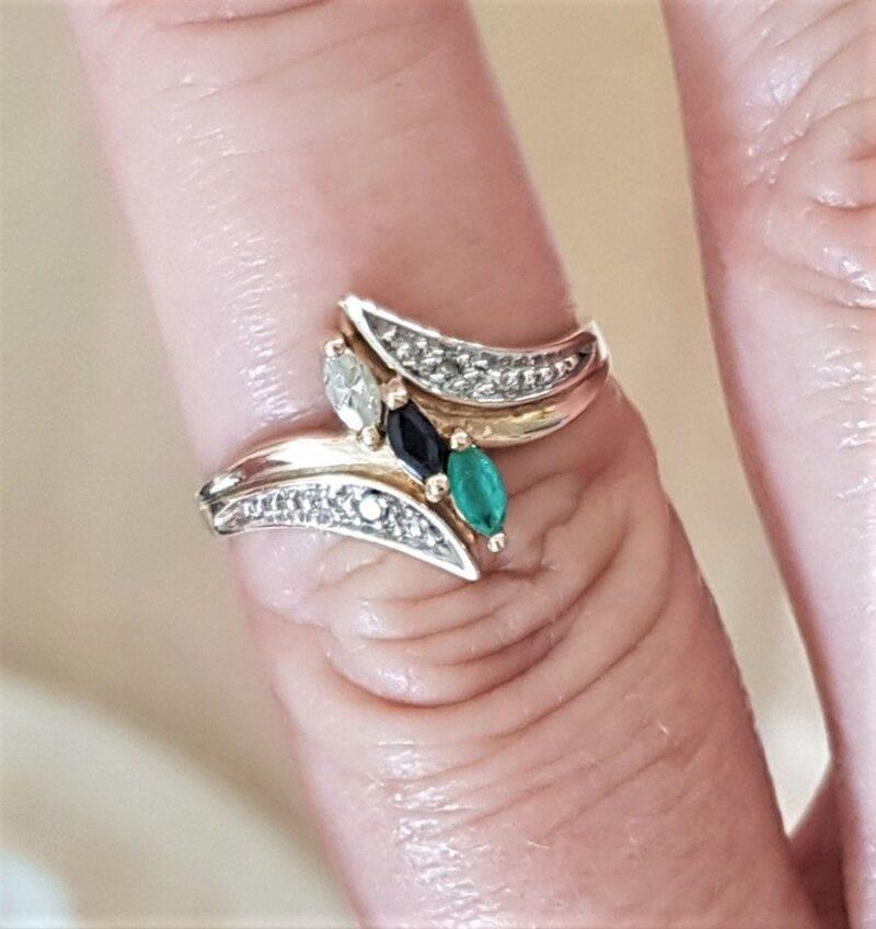 ædelsten ring