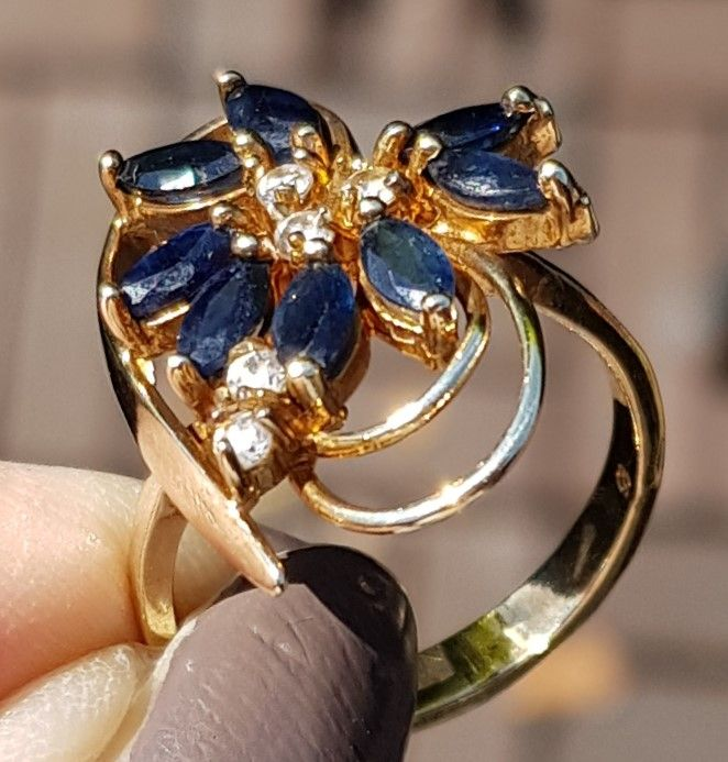 blå safir secondhand
