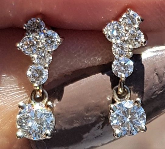 diamantøreringe guld