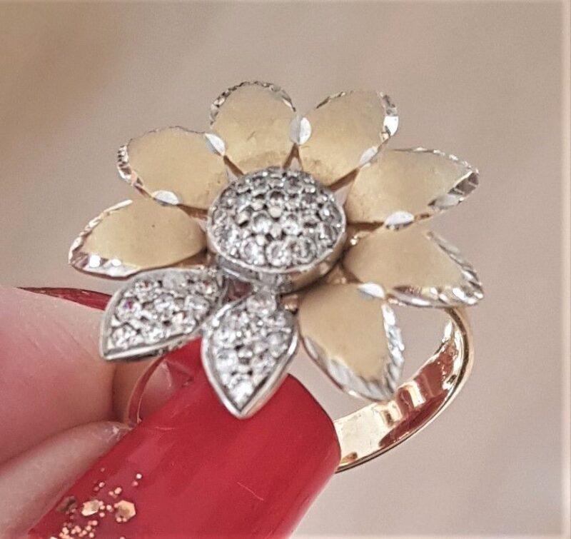 Marguerite Ring guld