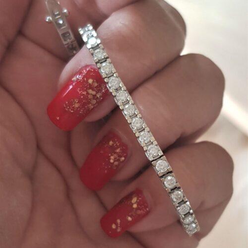 3,5 carat armbånd