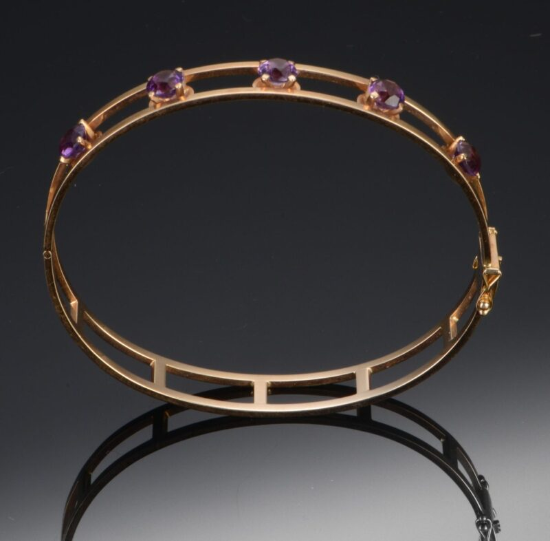 Armring m. Ametyster