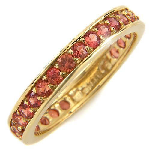 orange safir ring