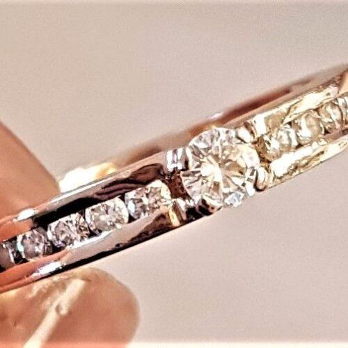 Rosa Diamant Ring