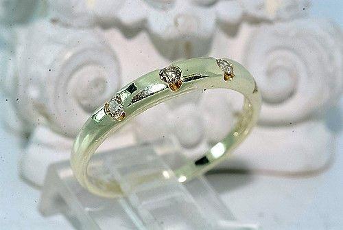 Alliance/Diamant Ring i 14 Karat Guld.