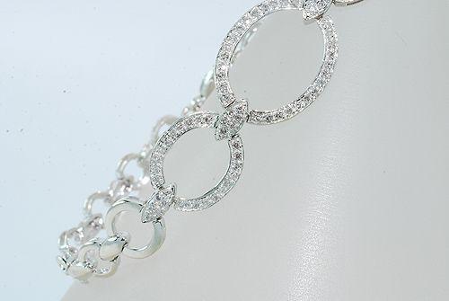 Cirkel diamant vedhæng