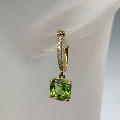grønne peridot