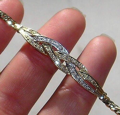 Charlotts Diamonds Diamant Armbånd i Guld