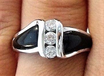 Onyx m. Diamanter
