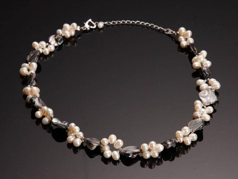 Keshi Perle Kæde m. Kultur Perler